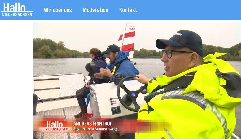 Rettungs- und Begleitboot in Aktion