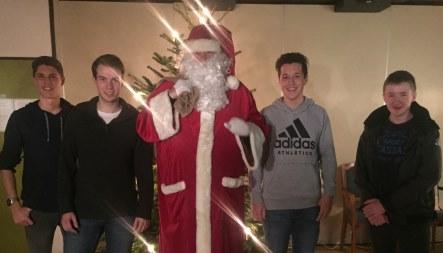 Weihnachtsmann zu Besuch beim SVBS